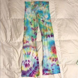 Pants - Tie dye yoga pants